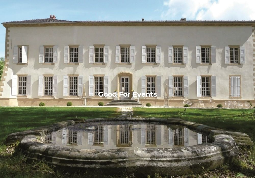 good for events - fiche Domaine de Beausemblant