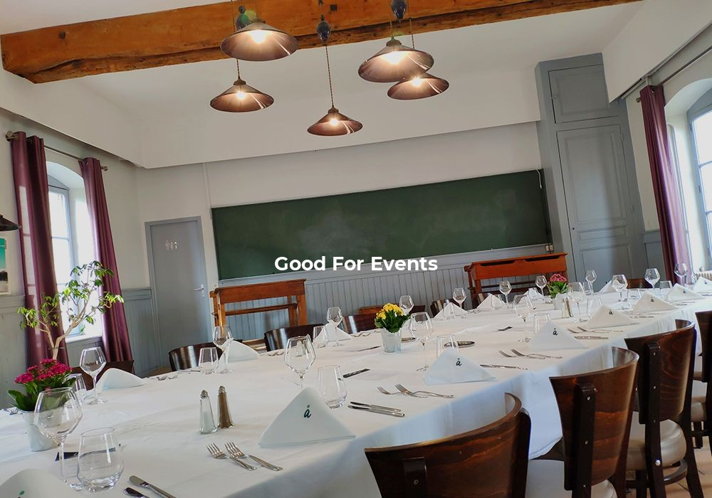 good for events - fiche Le Talluy