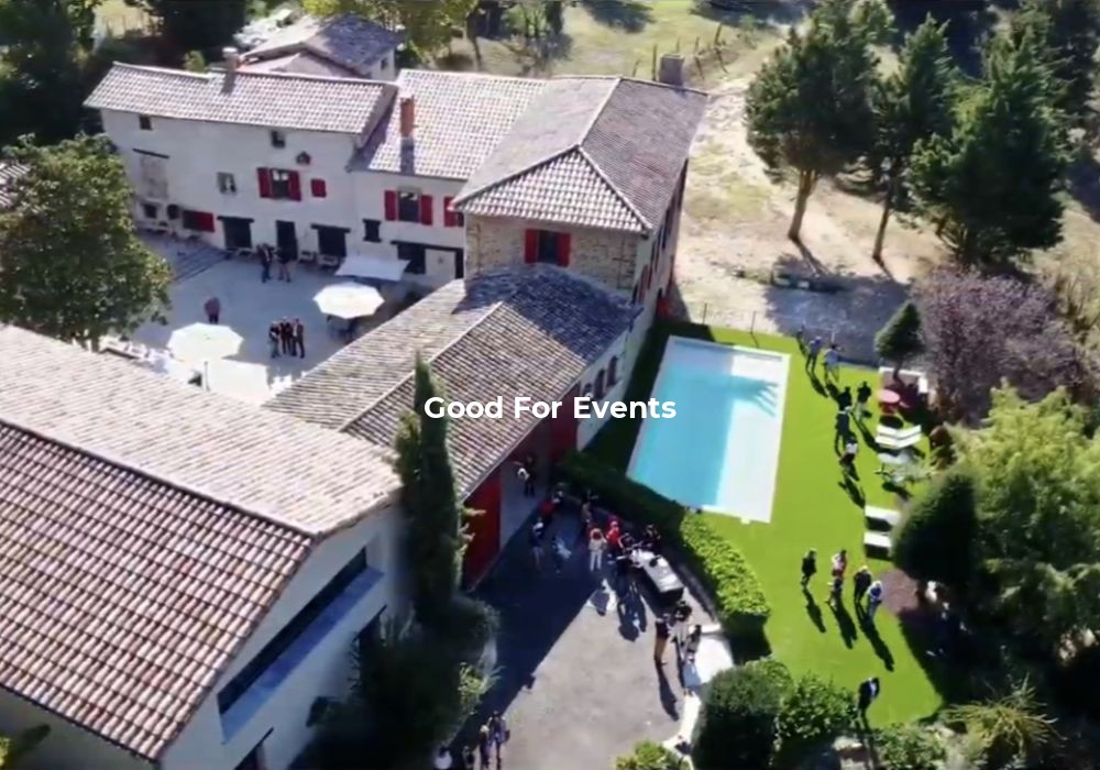 good for events - fiche Domaine de Gorneton