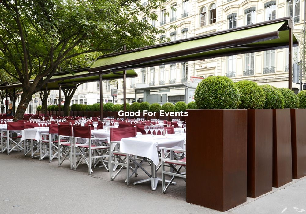 good for events - fiche Grand Café Des Négociants