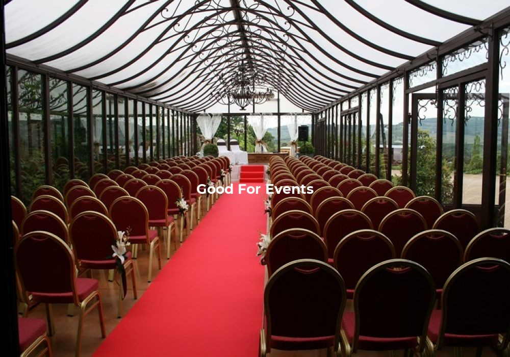 good for events - fiche Domaine De Bellevue