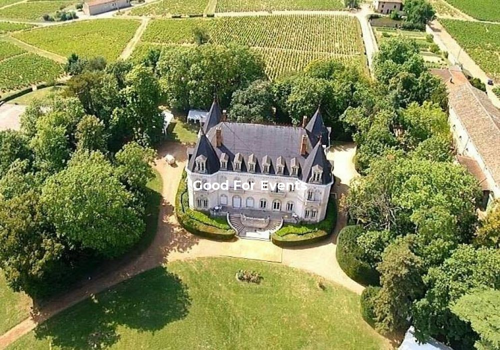 good for events - fiche Château De Néty