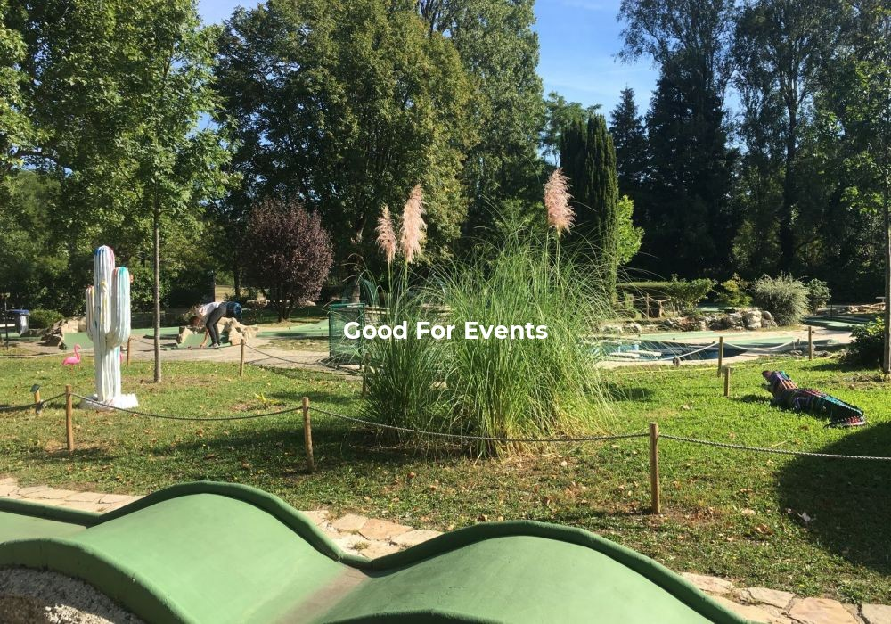 good for events - fiche Golf
