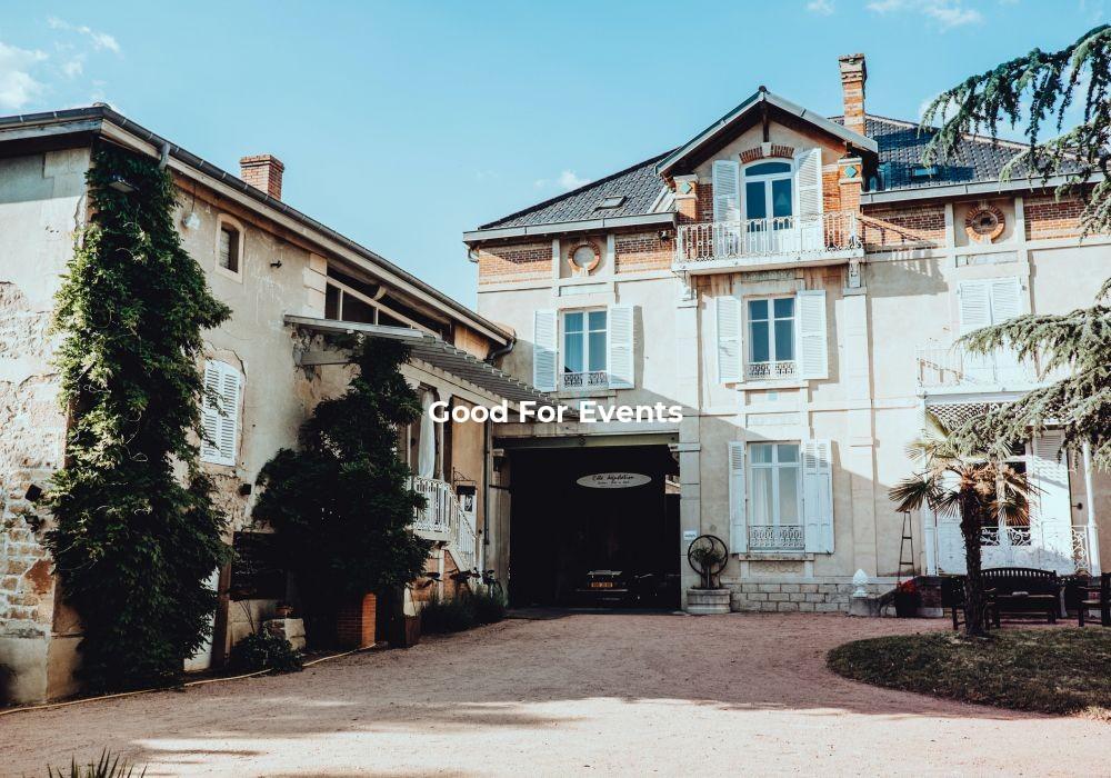 good for events - fiche Les Maisons du Bonheur