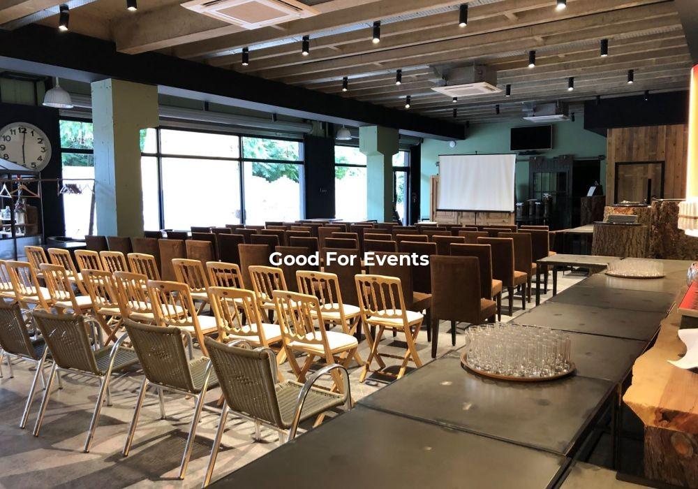 good for events - fiche L'Espace Du 9