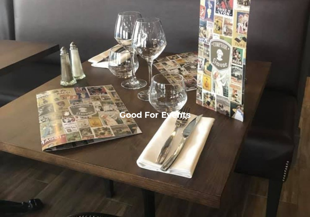 good for events - fiche Comptoir Simone