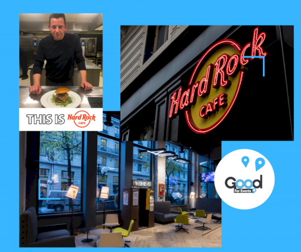 article good for events - Hard Rock Cafe Lyon I Burger du mois de décembre