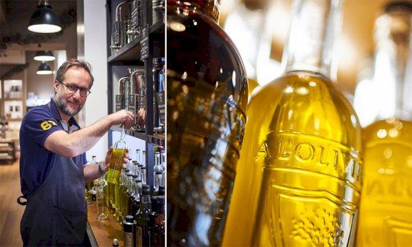 article good for events - À l'Olivier propose plus d'une soixante d'huiles d'olive
