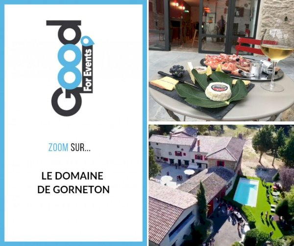 article good for events - Bref I Domaine de Gorneton