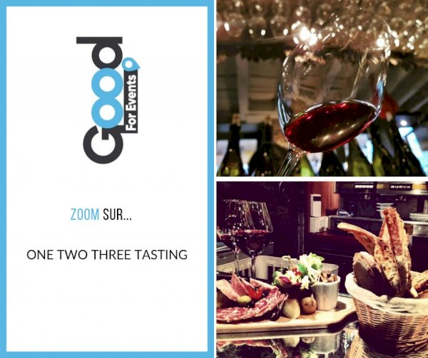 article good for events - Bref I Vin BIO One Two Tree Tasting