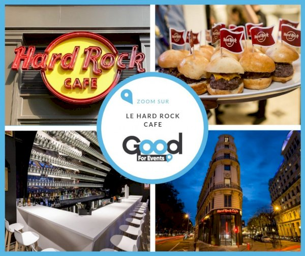 article good for events - Bref I Hard Rock Cafe Lyon I Meilleur Burger du Monde 2019
