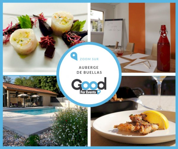 article good for events - Bref I Auberge de Buellas