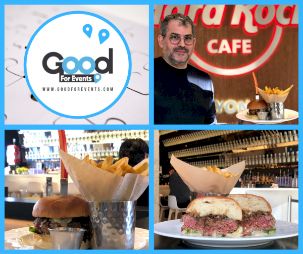 article good for events - Hard Rock Cafe Lyon I Burger du mois de janvier & février
