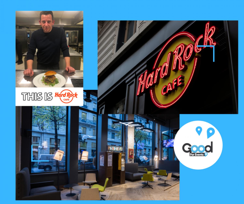 article good for events - Hard Rock Cafe Lyon I Burger du mois de décembre