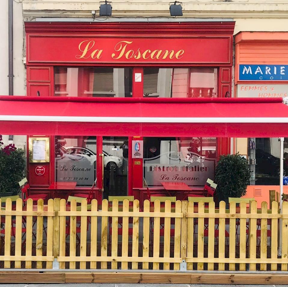 article good for events - La Toscane - Restaurant - Menu