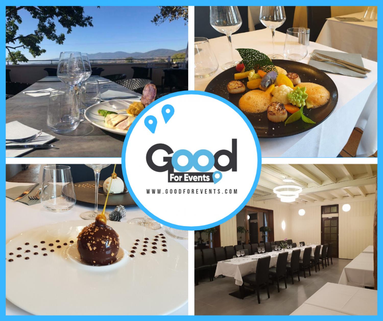 article good for events - Restaurant l'Atelier des Gourmands à Condrieu