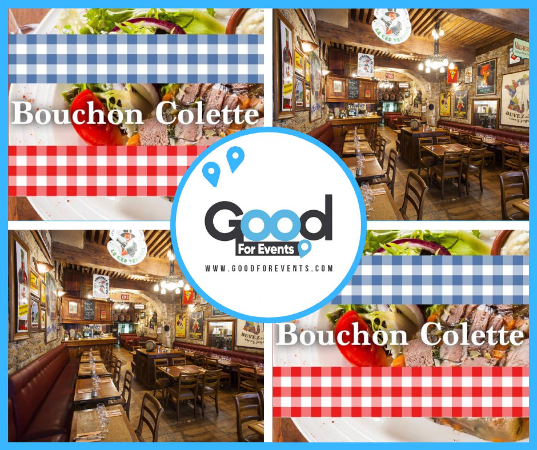 article good for events - Chez Colette - Restaurant - Menu