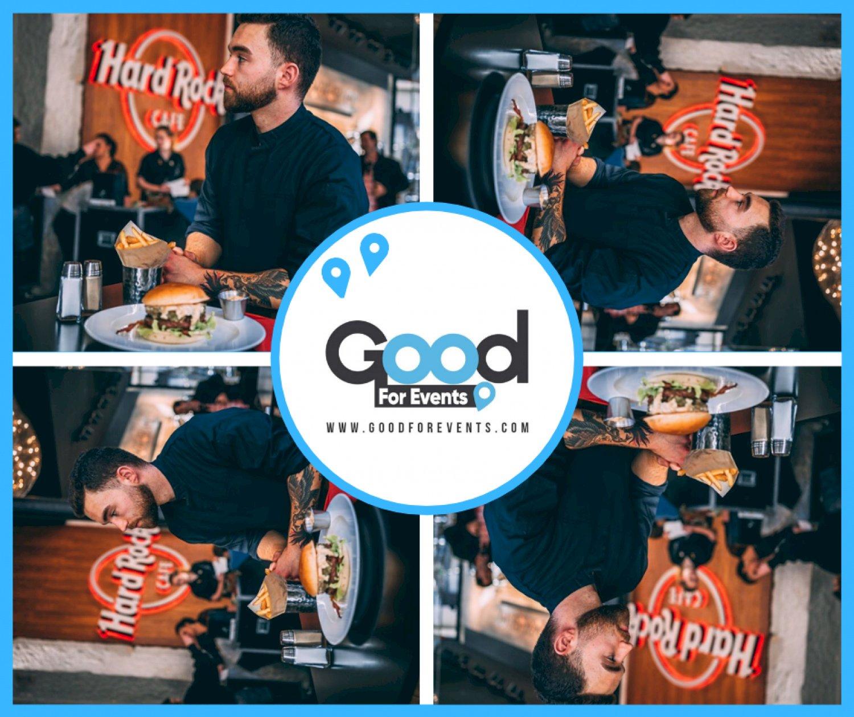 article good for events - Hard Rock Cafe Lyon I Burger du mois de mars