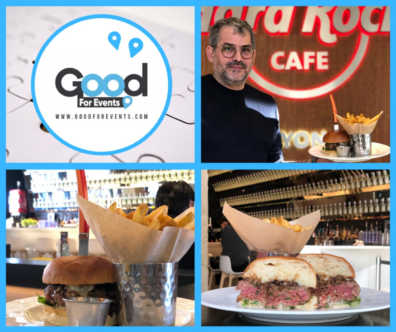article good for events - Hard Rock Cafe Lyon I Burger du mois de janvier & février