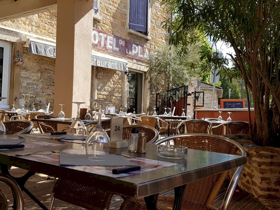 article good for events - Hôtel de la Place - Restaurant - Menu