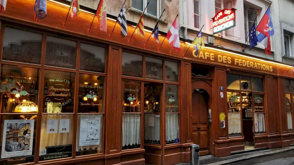 Fiche Restaurant - Café des Fédérations