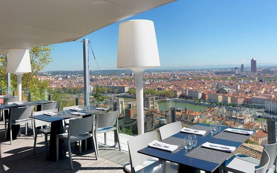 Fiche Restaurant l'Antiquaille - Le Rooftop Têtedoie - MOF