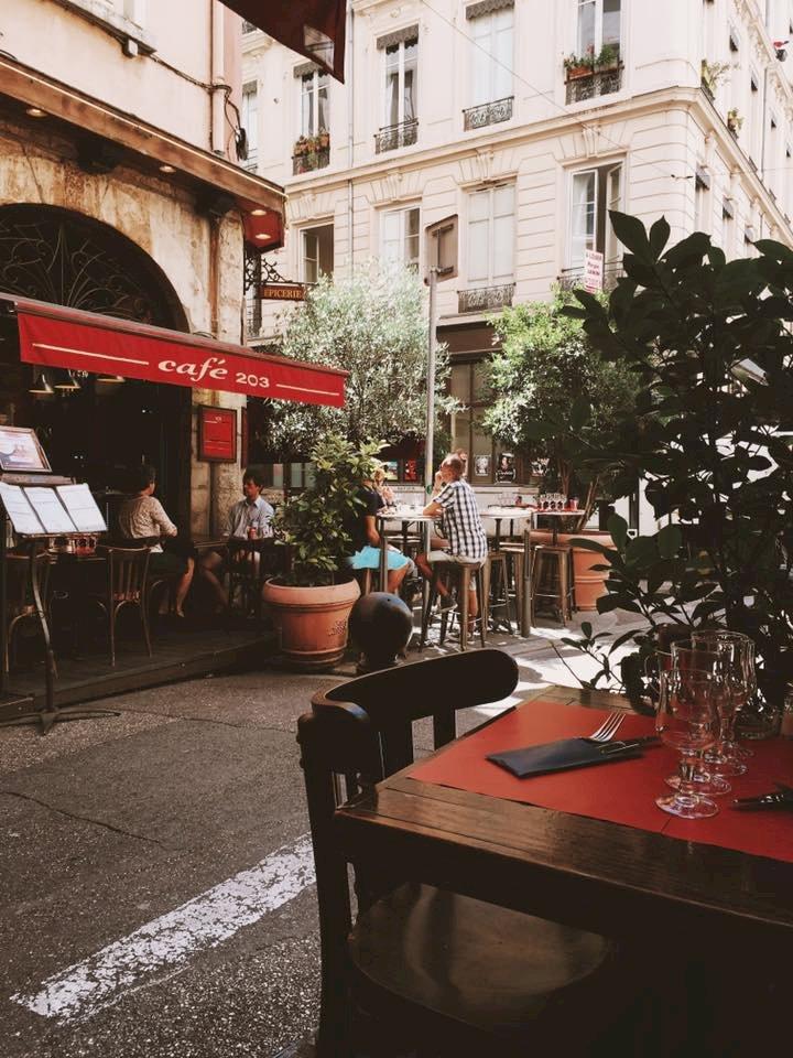 Fiche Restaurant - Café 203