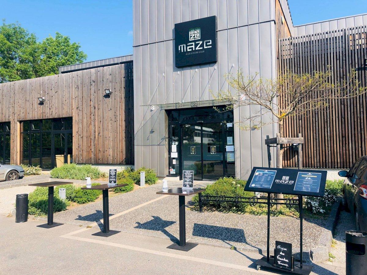 Fiche Restaurant – The Maze