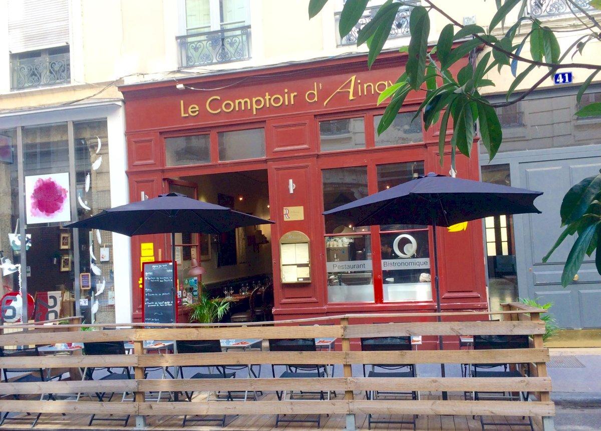 Fiche Restaurant - Le Comptoir d'Ainay