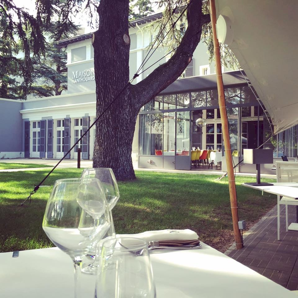 Fiche Restaurant - Maison d'Anthouard - Écully