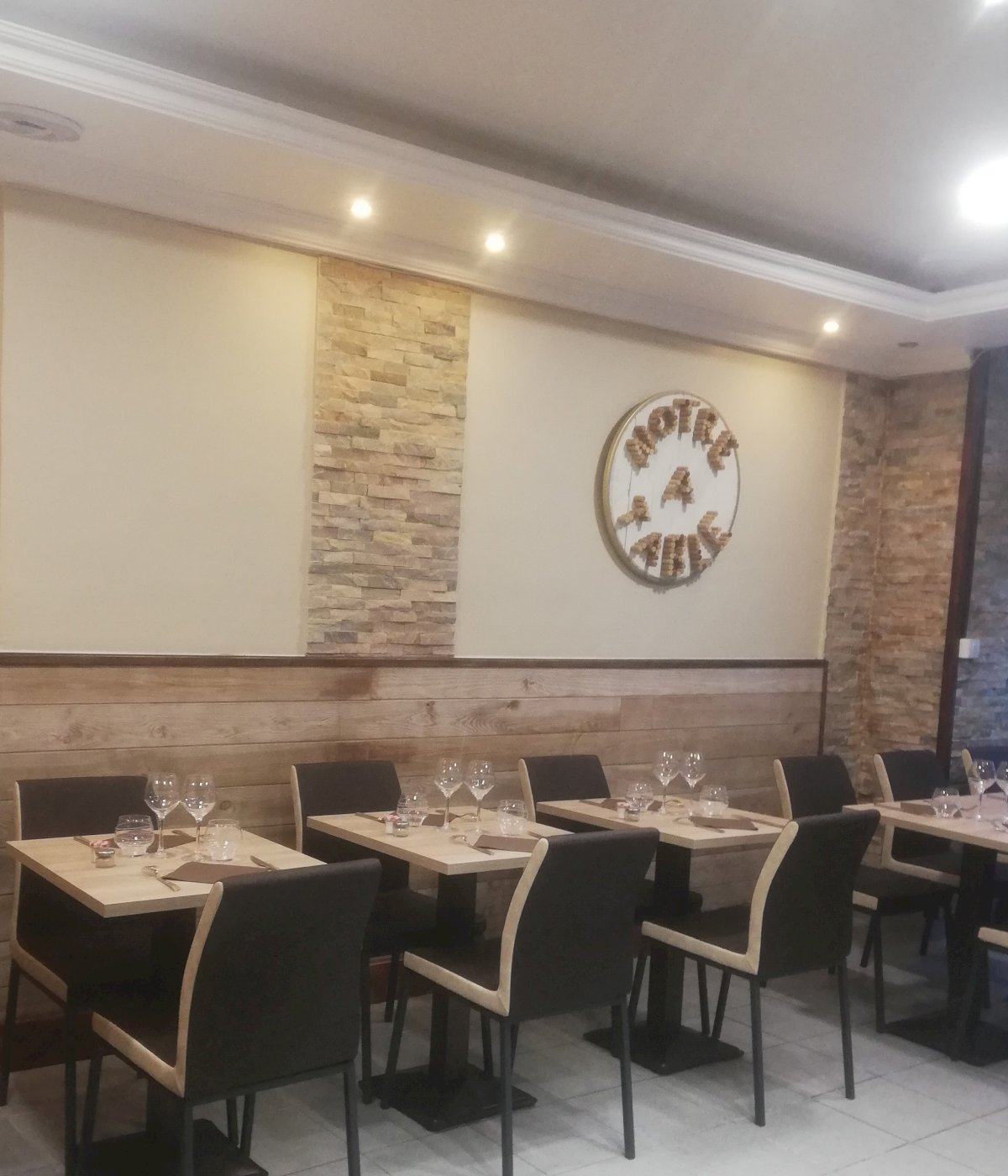 Fiche Restaurant - A Notre Table